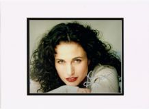 Andie MacDowell Autograph Signed Photo